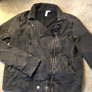 B.P. Moto sweater jacket
